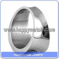 Fashion 316L stainless steel ring blanks (R5806)
