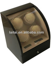 watch winder parts with acrylic window LED blue light Watch Boxes & Cases