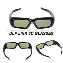 best selling dlp link 3d active shutter glasses for Optoma GT750