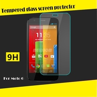 Hot!! Wholesale price 9H tempered glass screen protector for Motorola Moto G tempered glass