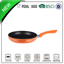 induction bottom non-stick temperature sensor for frying pan