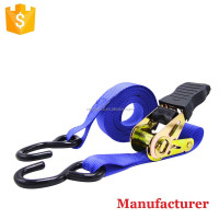 "25mm Ratchet Cargo Lashing,1"" Ratchet Tie Down,high quality Cargo Lashing Belt"