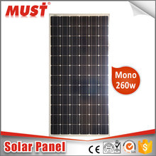 Chinese Supplier Wholesale 30W to 300W Monocrystalline Solar Panel in Solar System