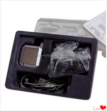 new design top grade plastic blister tray with flocking,phone packing box