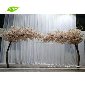 GNW BLS1707005 Arch Tree Light Pink Over Hanging Tree Cherry Blossom Tree