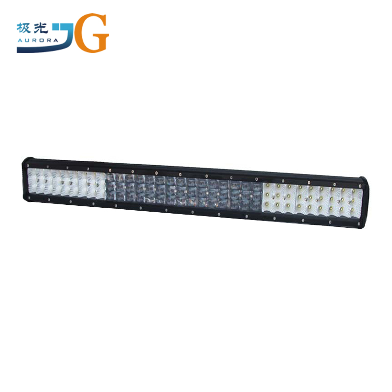 31inch offroad led light bar 297W automotive led work light easy to install led light bar adjustable mount reflector cup and 5S