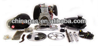 Gas engine kit for bicycle using 4 stroke engines