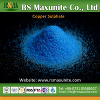 Industry salts blue crystal water soluble copper sulfate pentahydrate