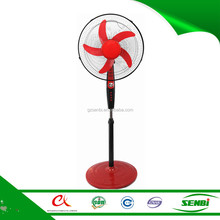 double oscillation solar stand fan portable cooling fan with timer or light