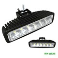 White lighting 18w bright IP67 waterproof discast aluminum housing 4x4 ATV led work lighting