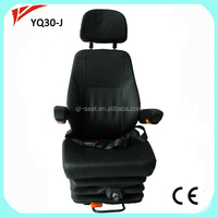 Air suspension Coach seat driver with slider
