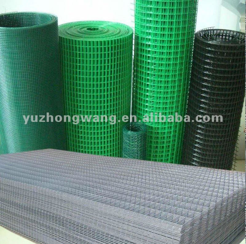 2x2 galvanized coated black welded wire mesh