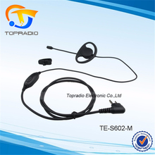 Cheap Earphone With Mic For Motorola CP140 GP2000 GP2100 GP300 GP308 GP68 GP88 GP88S PTT Transceptor FM Headset Cheap Earphone