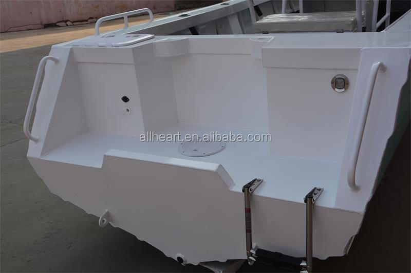 19ft center console aluminum fishing bowt with T-Top