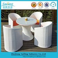 Durable All Weather Metal Roots Rattan 4 Season Garden Furniture