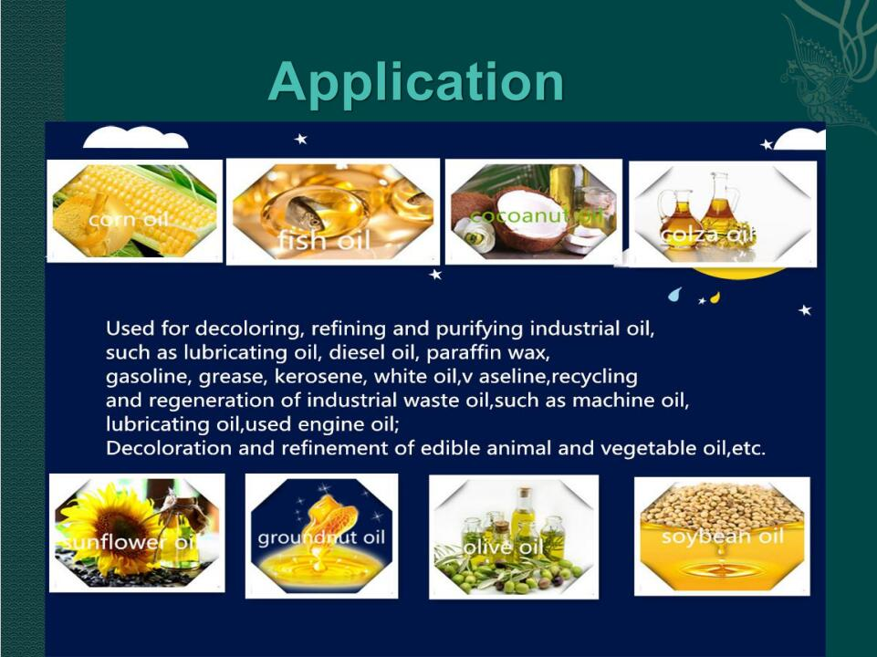 edible refined soybean oil additives activated bleaching earth