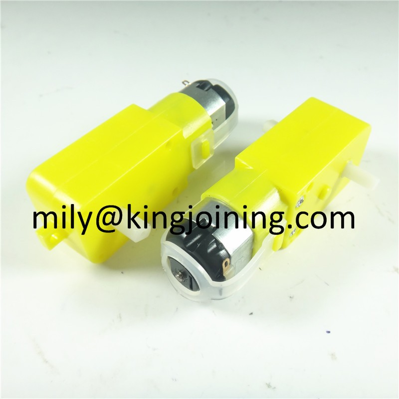 Low price KJ140 6V Shaft DC Gear Motor 1:48 TT For Smart Car