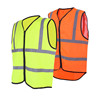 roadway high visibility safety reflector vest