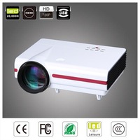 long lifetime mini proyector multimedia portatil beamer projector,4000:1 portable multimedia low cost home theater projector