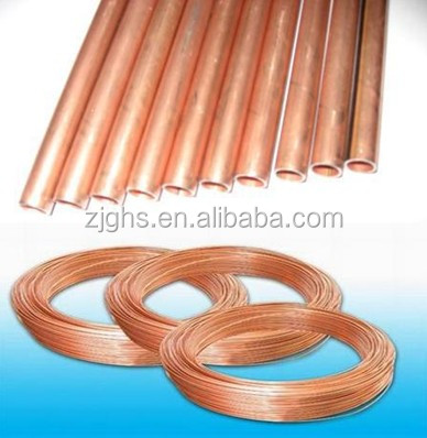 double wall copper coil pipe