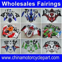 FFKDU002 Motorcycle Fairing Kit For 749 999 2003 2004 White&Red Tail Open Wholesale
