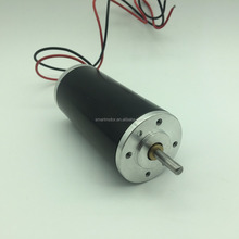 42mm High Torque Brush Pmdc Motor 12v 24v 36v 40v, rated torque upto 100mNm