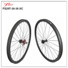 Extralite MTB carbon clincher wheels 28H/32H 29er moutain bike, high end carbon bicycle wheels 700c XD freebody