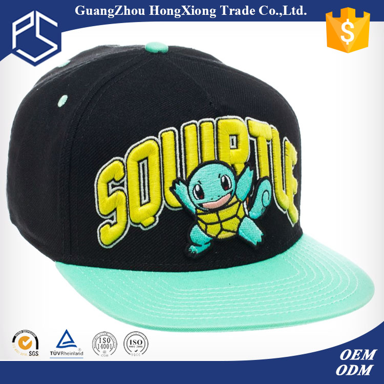 China manufacturer 3d embroidery customize snapback hat box