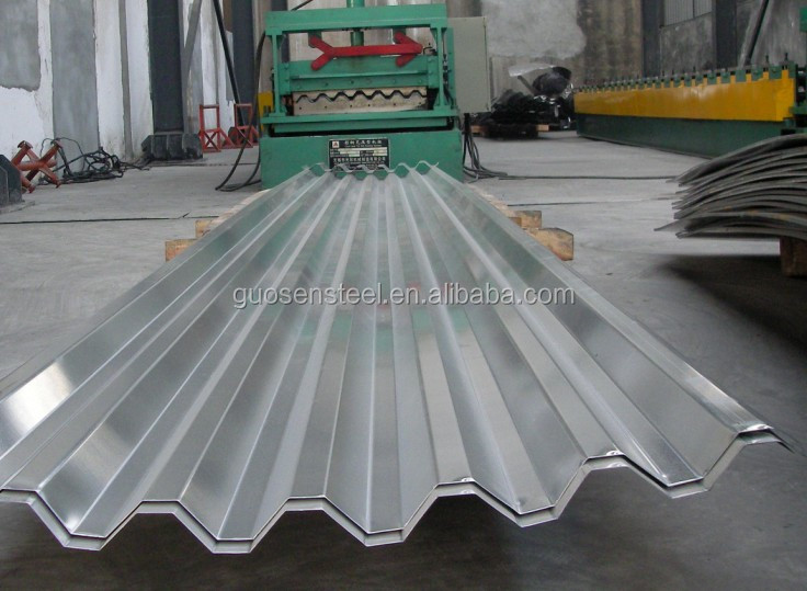 galvanized corrugated iron sheet/ weight of galvanized corrugated iron sheet