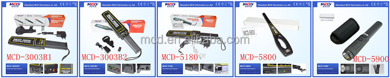 Handheld Body Scanner Detector Equipment/Chinese Metal Detector/MCD-2003