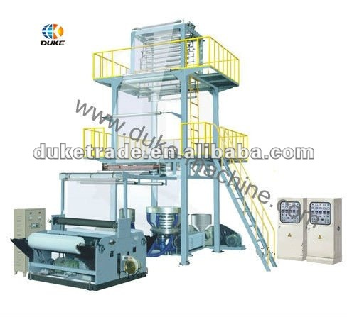 SJ Series Two Layer Plastic Film Blowing Machine