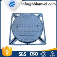 GGG50 Cast iron/Ductile iron 850X850 C250 Square manhole cover