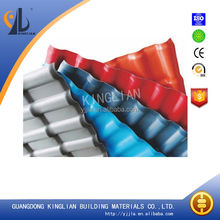 Construction Materials Spanish ASA PVC Roofing Tile