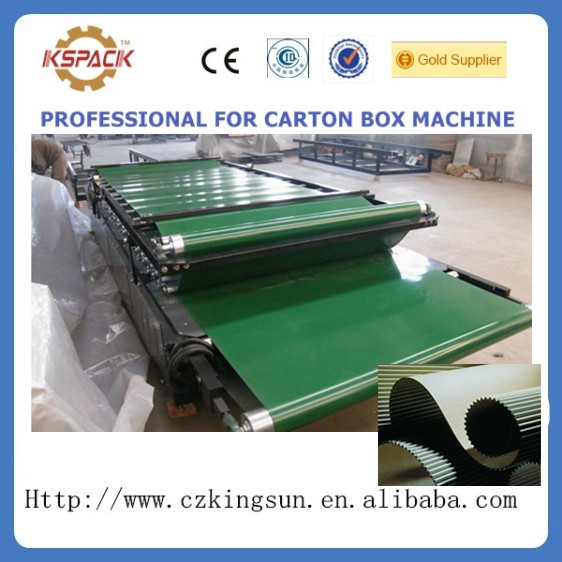 JGL-06001 Small carton box making machine /semi-auto corrugated board flute laminating
