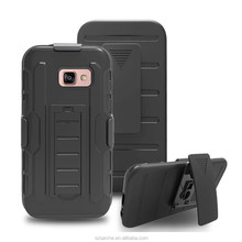 Heavy Duty Hybrid Kickstand Belt Clip Holster Combo Rugged Case for Samsung Galaxy A5 2017 A520