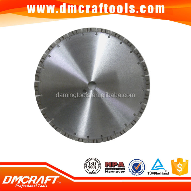 Designer custom fast cutting diamond laser sawing blade