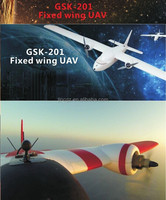 long range long flight time real-time uav fixed wing