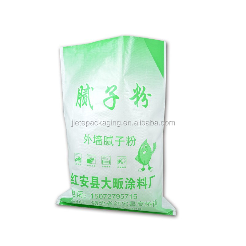 China green building garbage, sand packaging pp woven bags, sack for flood