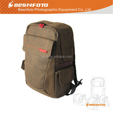 High Quality Larger Size Luxury Waterproof Canvas Professional dslr Backpack Camera Bag