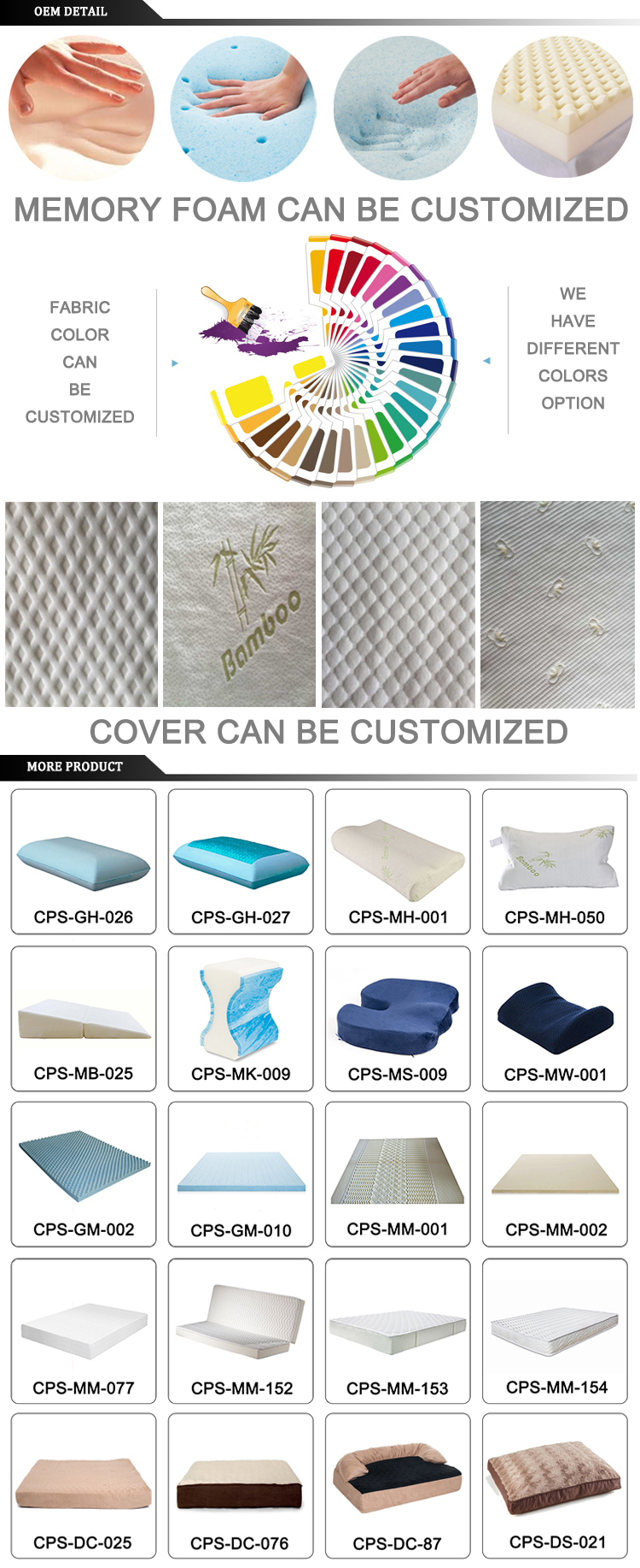 luxury linen fabric cover mattress ticking fabric memory foam mattress manufacturers in china