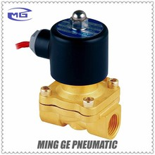 2W series 2/2 Way electric water valve solenoid air gas oil pneumatic valve