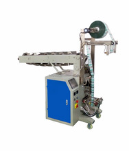 Foshan semi automatic grain bag packing machine for puffy food shrimp etc
