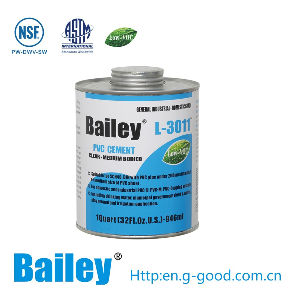 Solvent For Pvc Pipe And Cement : Pvc solvent cement pipe glue for pipes and fittings