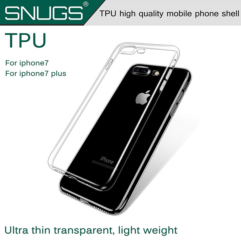 Transparent Case For Apple for iPhone 7 P Luxury TPU silicone Stand Back Case Cover For iPhone7 7plus Phone Cases Coque Fundas