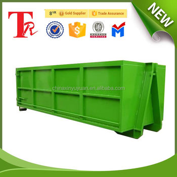 Construction waste Skip container hooklift container HOOK LIFT dumpster hook lift bin