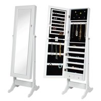 Modern Mirrored Jewelry dressing mirror with cabinet