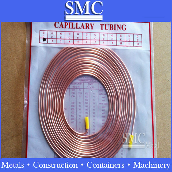 strong production seamless capillary copper tubes,copper tube heat transfer finned coil,copper pipe from mill