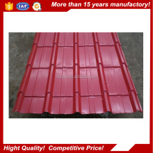 Color Coated Galvanzied Steel Sheet Zink Corrugated Color Coated Metal Roofing