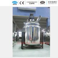 Stianless Steel Mixing Tanks With Agitator