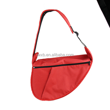 Red soft dog carriers sling pet shoulder bag wholesale